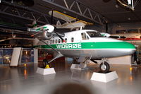 LN-LMN @ ENBO - Twin Otter in Widerøe colourscheme in the Norsk Luftfartsmuseum in Bodø, Norway. Widerøe operated this aircraft betwen 1968 and 1971. - by Henk van Capelle