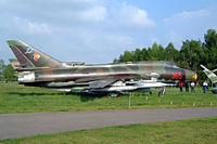 25 04 @ ETHT - Sukhoi Su-22M-4K Fitter-K [25511] Cottbus~D 06/05/2002