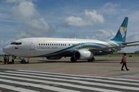 A4O-BA @ OTBD - Oman Air, Boeing 737-8BK (WL), CN: 29685/2457, Name: Fahud - by Air-Micha