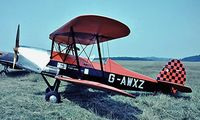 G-AWXZ @ EGTB - SNCAN Stampe SV.4C [360] Booker~G 11/07/1971. Image taken from a slide. - by Ray Barber