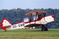 OO-GWB @ EBDT - Stampe et Vertongen Stampe SV.4B [1171] Schaffen -Diest~OO 12/08/2000