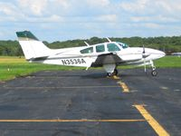 N3536A @ KFKL - On the ramp at Franklin, PA - by Bob Simmermon