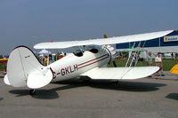 C-GKLH @ CYOO - Classic Aircraft Corp YMF-5C Waco [F5-030] Oshawa~C 25/06/2005 - by Ray Barber