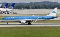 PH-EZI @ EDDM - departure from Munich