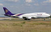 HS-TGX @ EDDF - departure via RW18W