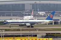 B-2822 @ ZGGG - Boeing 757-21B [25884] (China Southern Airlines) Guangzhou-Baiyun~B 24/10/2006 - by Ray Barber