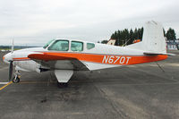 N670T @ AWO - 1958 Beech 95, c/n: TD-19