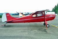 N7272K @ AWO - 1952 Cessna 170B, c/n: 20412