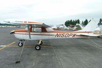 N150PW @ AWO - 1966 Cessna 150F, c/n: 15063380