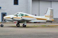 N489N @ AWO - 1955 Cessna 310, c/n: 35193