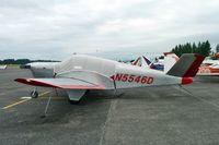 N5546D @ AWO - 1957 Beech H35, c/n: D-5130