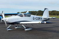 G-CDRV @ EGBT - at Turweston's 70th Anniversity fly-in celebration - by Chris Hall