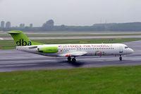 D-AGPR @ EDDL - Fokker F-100 [11391] (DBA) Dusseldorf~D 27/05/2006 - by Ray Barber