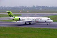 D-AGPQ @ EDDL - Fokker F-100 [11338] (DBA) Dusseldorf~D 27/05/2006 - by Ray Barber