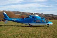 G-USTS @ EGBC - Agusta A.109A-2 [7725] Cheltenham Racecourse~G 16/03/2004