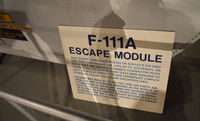 63-9780 @ KFFO - Escape module for F-111A  AF Museum - by Ronald Barker