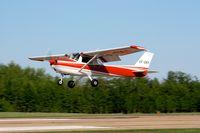 CF-EKY @ CEQ3 - CF-EKY Approach CEQ3 Camrose Runway 14. - by Camrose Flying Club