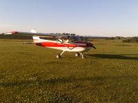 CF-EKY - Rimbey, Alberta grass field - by Darryl Oscar