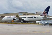 N45905 @ PAE - 2012 Boeing 787-8 Dreamliner, c/n: 34825 Line No 55 - stored at Paine Field, Everett