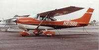 N91988 @ EMT - When I bought '988, it had the original paint scheme and a speed kit on the wheel fairings, struts and wing struts. A great flying airplane she was. - by David Stevens