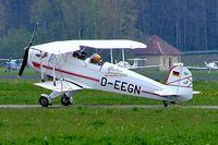 D-EEGN @ EDNY - CASA 1.131E Jungmann [2095] Friedrichshafen~D 21/04/2005 - by Ray Barber