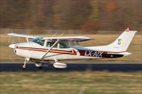 LX-AIX @ EDDR - Cessna 182Q, - by Jerzy Maciaszek