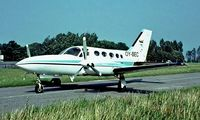 OY-BEC @ EKOD - Cessna 421C Golden Eagle [421C-0218] Odense~OY 06/06/1982. Image taken from a slide.