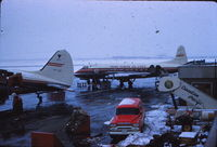 CF-THF @ YZF - Either Yellowknife or Edmonton in May 1958 - by Marius Vos  [my dad]