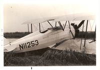 N11253 @ F86 - This was taken in 1971 at Columbia, La. where it sat for a couple years At that time it was owned by an old crop duster pilot named Robert Datson from Homestead, Fla - by Don Enlow