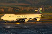 HZ-AIU @ VIE - Saudi Arabian Cargo - by Joker767