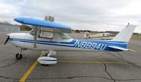 N8894U @ KAXN - Cessna 150M on the line.
