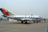 D-CMET @ EDDB - Dassault Falcon 20E [329] Berlin-Schonefeld~D 06/05/2002