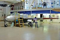 CF-RLK @ CYYC - DH.100 Vampire F.3 [EEP42387] Calgary~C 22/07/2008 - by Ray Barber