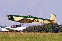 G-APBO @ EGBP - Druine D.53 Turbi [PFA 229] Kemble~G 18/08/2006 - by Ray Barber