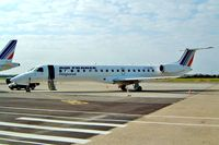 F-GUBC @ LFBP - Embraer EMB-145MP [145556] (Air France) Pau-Long Uzein~F 23/09/2002