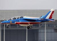 E163 @ LFBO - Landing rwy 14L - by Shunn311