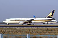 9V-SQG @ ZBAA - Boeing 777-212 [28518] (Singapore Airlines) Beijing~B 17/10/2006 - by Ray Barber
