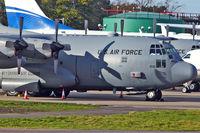 92-1532 @ EGGW - 1992 Lockheed C-130H Hercules, c/n: 382-5328 at London Luton - by Terry Fletcher