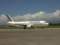 UNKNOWN @ MTPP - Aircraft Air France at the Toussaint Louverture International Airport of Port-au-Prince - by Jonas Laurince