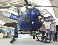D-HVBF @ EDDB - Eurocopter EC135T-2i of the German federal police(Bundespolizei) at the ILA 2012, Berlin - by Ingo Warnecke