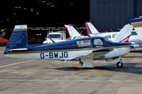 G-BWJG @ EGTR - Mooney M.20J Model 201 [24-3319] Elstree~G 10/1/2004. - by Ray Barber