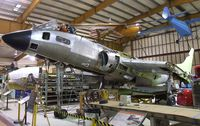 129554 - Vought F7U-3 Cutlass being restored at the Museum of Flight Restoration Center, Everett WA - by Ingo Warnecke