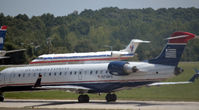 N718PS @ KCLT - Taxi CLT - by Ronald Barker
