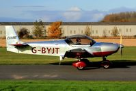 G-BYJT @ BREIGHTON - Taxying out for departure - by glider