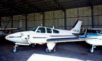 I-ELCA @ LSZL - Beech 95-B55 Baron [TC-540] Locarno~HB 27/09/1984