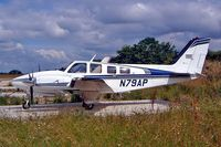 N79AP @ EGTN - Beech 58P Baron [TJ-206] Enstone~G 10/07/2004 - by Ray Barber