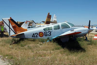 E20-6 @ LECU - Beech 95-B55 Baron [TC-1459] Cuatro Vientos~EC 10/07/2011 - by Ray Barber