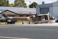 VH-CKU @ YCDR - Bell 205A-1 [30176] Caloundra~VH 19/03/2007. Undergoing major overhaul after arriving from Oman.