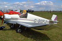 G-BGFJ @ EGBP - Jodel D.9 Bebe [PFA 1324] Kemble~G 09/07/2004 - by Ray Barber