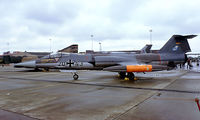20 43 @ EGUN - Lockheed F-104G Starfighter [683-2050] Mildenhall~G 28/05/1983. Image taken from a slide.